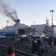 Nizza: incendio a bordo nave Moby Lines, un ferito2