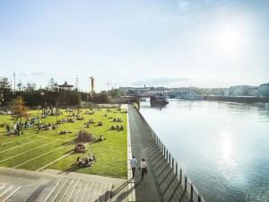 Guarda la versione ingrandita di Parc des Chantiers, ile de Nantes © Franck Tomps / LVAN