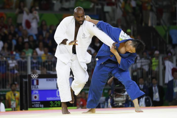 Rio 2012 judo, Teddy Riner vince l'oro. Imbattuto da 112 incontri3