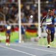 Rio 2016, 4x100 donne: ad Allyson Felix cade testimone4