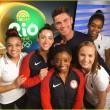 Rio 2016, Simone Biles bacia il suo idolo Zac Efron3