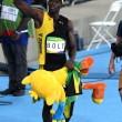 YOUTUBE Rio 2016, Usain Bolt re dei 100 metri per la terza volta consecutiva 8