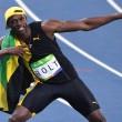 YOUTUBE Rio 2016, Usain Bolt re dei 100 metri per la terza volta consecutiva 7