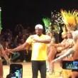"YOUTUBE Rio 2016: Usain Bolt, ""trenino"" con ballerine samba5"