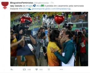 Rio 2016, bacio gay e richiesta matrimonio a bordo campo4