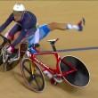 Rio 2016, ciclismo Omnium: Viviani cade, si alza e riparte3