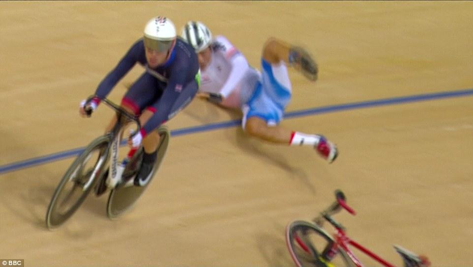 Rio 2016, ciclismo Omnium: Viviani cade, si alza e riparte