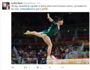 Rio 2016, ginnasta messicana offesa per il suo fisico