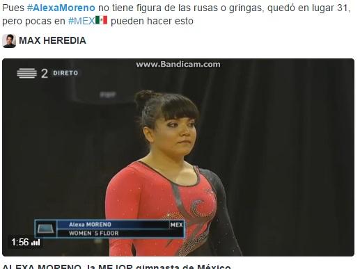 Rio 2016, ginnasta messicana offesa per il suo fisico2