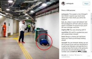 Guarda la versione ingrandita di Rio 2016, judoka eliminato: piange a terra nel tunnel FOTO