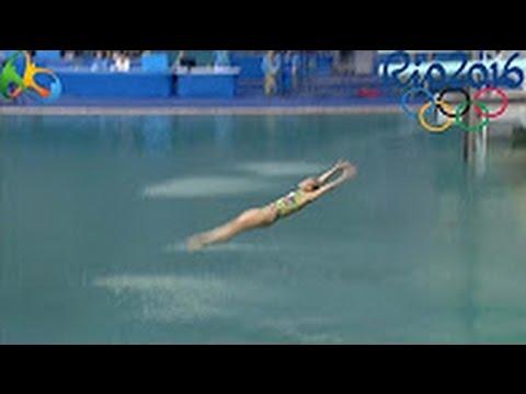 Rio 2016, schienata clamorosa della russa Bazhina3