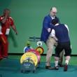 Rio 2016, sollevamento pesi: atleta armeno si spezza gomito2