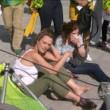Rio 2016, telecamera sospesa crolla su spettatori 3