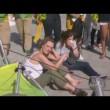 Rio 2016, telecamera sospesa crolla su spettatori 2