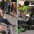 Rio 2016, telecamera sospesa crolla su spettatori 77