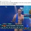 Rio 2016, tuffatori e l'illusione ottica delle scritte in tv4