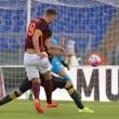 Roma-Fondi 4-0, video gol highlights: Dzeko - Szczesny show