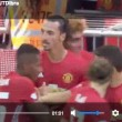 YOUTUBE Ibrahimovic gol, Leicester-Manchester United 1-2: Community Shield a Mourinho