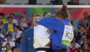 Guarda la versione ingrandita di Rio 2016, Odette Giuffrida argento nel judo. Oro a Kelmendi Majlinda