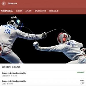 Guarda la versione ingrandita di Rio 2016, scherma (Garozzo): streaming-diretta tv, dove vedere Olimpiadi