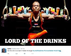 """Rio 2016, Yuri Van Gelder ubriaco ed espulso: per web è """"Lord of the drinks"""""""
