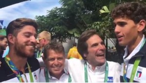 Guarda la versione ingrandita di Rio 2016, canottaggio. Di Costanzo: