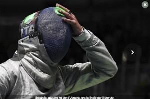 Rio 2016, sciabola donne: azzurre battute dall'Ucraina con polemica. Espulso giudice