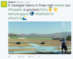 Guarda la versione ingrandita di Rio 2016, Gabriele Rossetti a medaglia: oro o argento nello skeet?