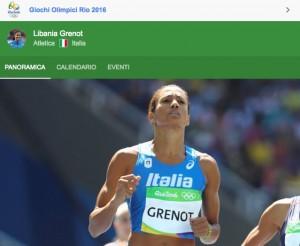 Rio 2016, Libania Grenot è semifinale. Tocca alle azzurre maratona