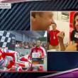 YOUTUBE Iannone-Belen Rodriguez festeggiano dopo MotoGp Austria