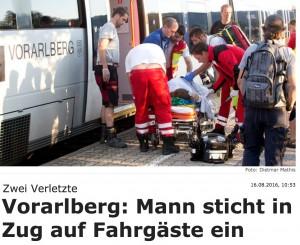 Austria, uomo accoltella passeggeri su treno: 2 ragazzi feriti