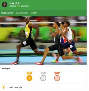 Rio 2016, Usain Bolt minuto per minuto: pollo, squat e banane