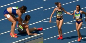 YOUTUBE Rio 2016, D'Agostino e Hamblin, fair play alle Olimpiadi