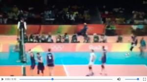 Guarda la versione ingrandita di YOUTUBE Ivan Zaytsev battuta più veloce della storia delle Olimpiadi