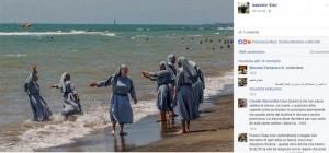 """Burkini, l'Imam di Firenze provoca: """"E le suore?"""" FOTO"""