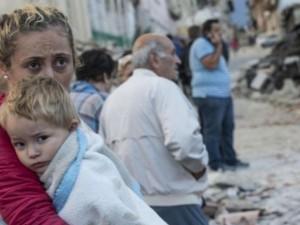 Terremoto Amatrice, Marco Gentile: masso crolla ad un centimetro dalla testa