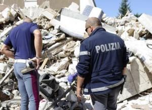 Terremoto Amatrice, primo arresto per sciacallaggio