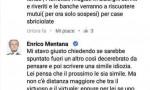 "Terremoto. Enrico Mentana: ""Webete"" all'indignato cronico"