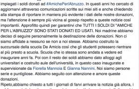 """Terremoto, Laura Pausini a Fiorello: """"Ecco come sono stati spesi i soldi perL'Aquila"""""""