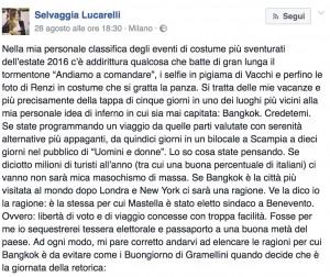 Guarda la versione ingrandita di Clemente Mastella querela Selvaggia Lucarelli: