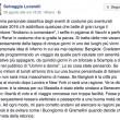 """Clemente Mastella querela Selvaggia Lucarelli: """"Ha offeso Benevento"""""""