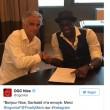 """Mario Balotelli ufficiale al Nizza: """"Mi manda Garibaldi"""""""