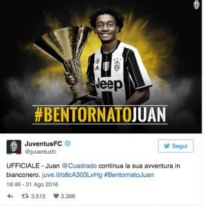 Guarda la versione ingrandita di Calciomercato Juventus, Axel Witsel salta clamorosamente