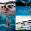 Surf attorno al vulcano attivo, l'impresa di Alison Teal2
