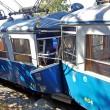 Trieste, scontro frontale fra tram otto feriti 2