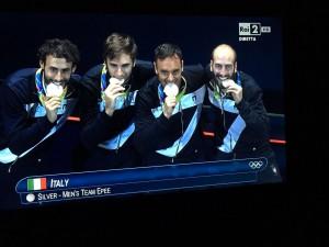 Rio 2016, azzurri spada argento a squadre: Francia troppo forte