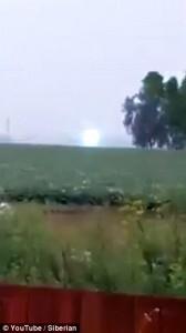 Fulmine globulare scambiato per ufo in Sibera57