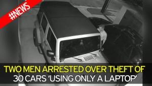 Guarda la versione ingrandita di Jeep e Dodge rubate in 6 minuti... grazie al laptop
