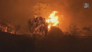YOUTUBE Marsiglia, incendio distrugge 2700 ettari nell'entroterra