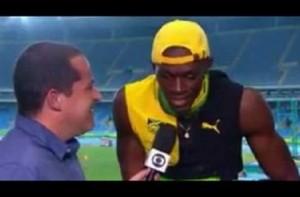 "Rio 2016, Usain Bolt canta ""One Love"" di Bob Marley666"